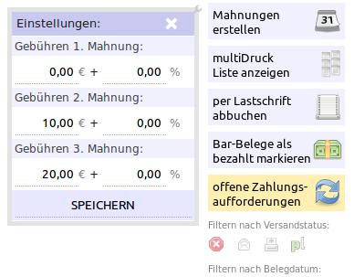 Mahngebühren Blog